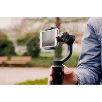 Smartphone Gimbal Stabilizer - easy to use, app support.