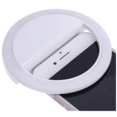 Runt selfie LED för mobiltelefoner, USB
